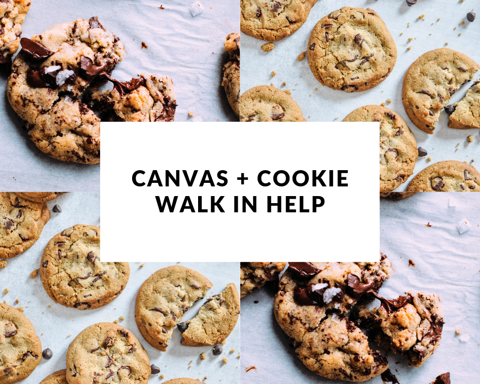 Canvas and a Cookie