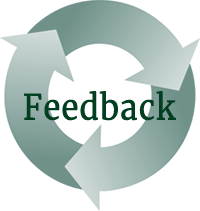 Feedback is a circular process