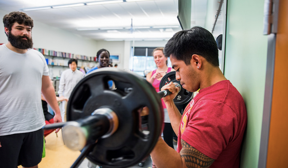 Human Performance Lab students