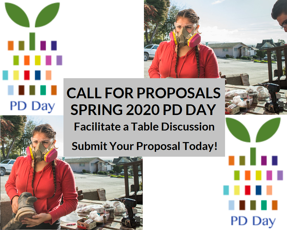 Call for Proposals: Facilitate a Table Discussion at Spring Professional Development Day
