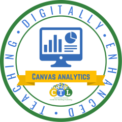 Digitally Enhanced Teaching: Canvas Analytics